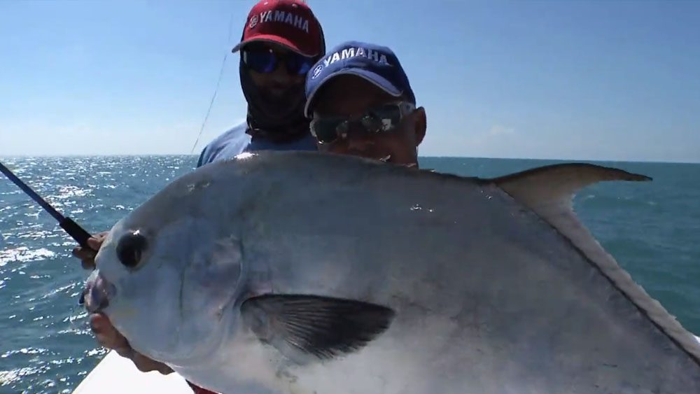Gulf Permit with Capt. Randy Towe