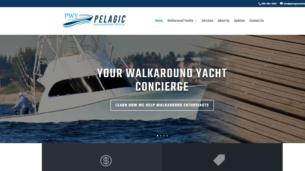 Pelagic Walkaround Yachts